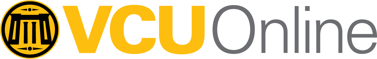 VCU Online brand logo in color