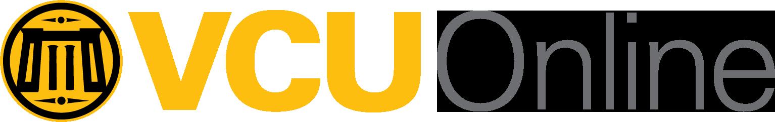 VCU Online brand logo in color